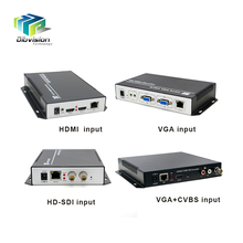 Video streaming hardware HD MI to ip h.264 video encoder with AAC,MP3 audio encoding