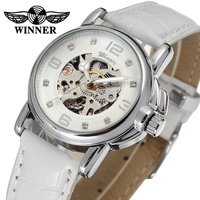 Mechanical Automatic White Watch For Women Luxury From Wristwatch Manufacturer In China