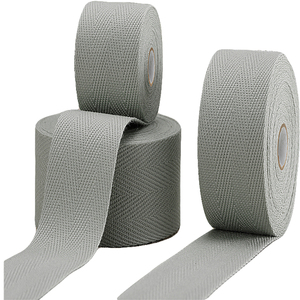 High quality weaving polyester twill tape for garment/bag strap/printed label