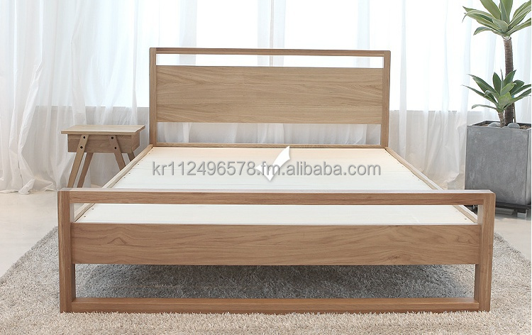 Uitgelezene Hedendaagse Moderne Eiken Houten Bed - Buy Hedendaagse Moderne LF-92
