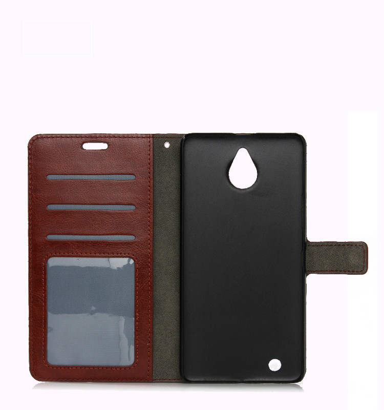 low price china mobile phone flip leather for Alcatel pop c9 case cover