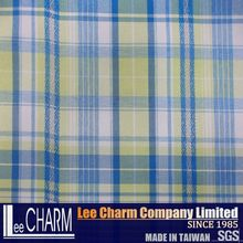 100 Nylon Plaid School Uniform Material Fabric For School Uniform