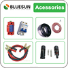 Bluesun factory supply high quality pv cable and solar panel connectors
