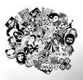 60 pcs Mixed funny hit stickers for kids Home decor jdm on laptop sticker decal fridge
