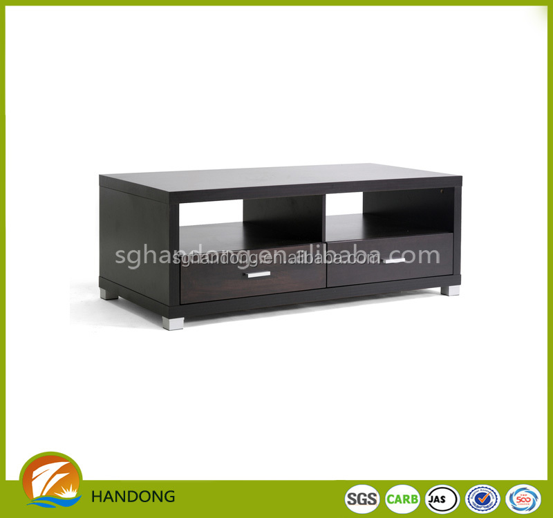 modern cheap design wood led tv stand entertainment unit