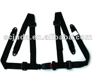 bride 4 points harness racing seat belt