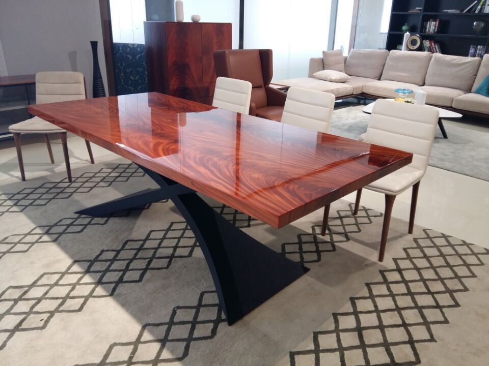 Mahagoni holz möbel  2015 Modernes Design Esszimmer Möbel Aus Mahagoni Holz Esstisch ...