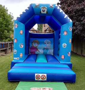 frozen inflatable bouncy castle all ages inflatable trampoline for sale