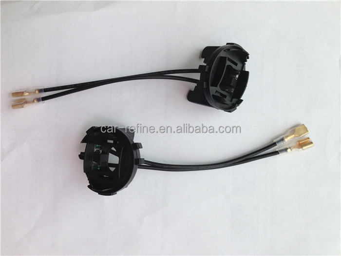 For Golf 7 Hid Xenon Bulb Holder Adapter H7 Hid Led Headlight ...