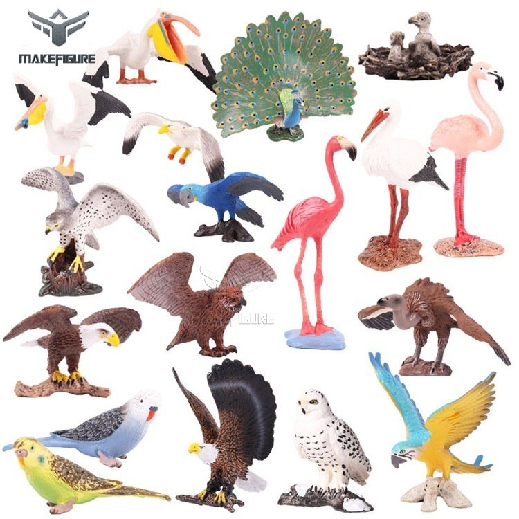 solid PVC wild animals toys collection, likelike high quality animal toys models, non toxic PVC animal figures for kids' gift
