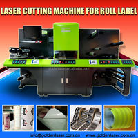 Roll to Roll Printed Label Laser Cutter Machine/Label Converting