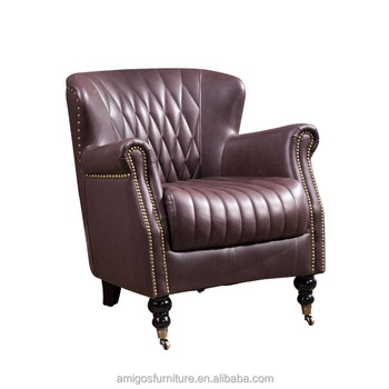 New Style Good Quality Leather Lounge Chair Buy Vintage Leather
