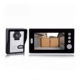 intercom for hotel wireless doorbell with 7'' TFT LCD screen clear two way audio