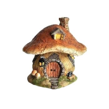 Delicieux Resin Woodland Miniature Fairy Garden Mushroom House