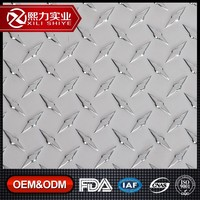 diamond embossed aluminum roofing sheet