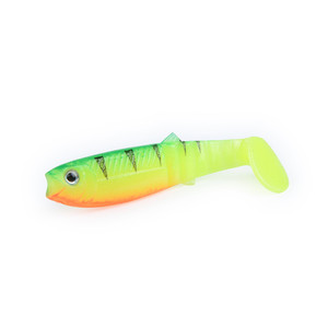 YOUME Soft Baits 80mm 100mm 125mm Artificial Soft Fishing Lures Wobblers Fishing Lures Silicone Shad Worm Bass Baits