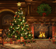 Christmas backdrops photography non-woven photo background/wedding stage backdrop studio decoration christmas tree scenci