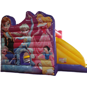 All kinds theme Inflatable Castle, Princess Inflatable Bouncer Slide Combo for kids, Inflatable Jumping House for sale