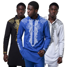 T-<span class=keywords><strong>Shirt</strong></span> confortable À Manches longues Hommes <span class=keywords><strong>Dashiki</strong></span> Chemises En Gros Vêtements Africains