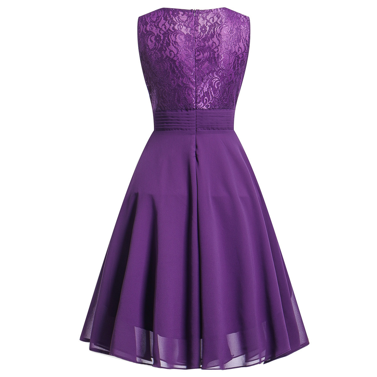 d9706e2f87dbd Women summer Dress pink Sleeveless Formal Ladies party knee-length  Bridesmaid Lace Long Dresses Vestidos jurken sukienka #YL