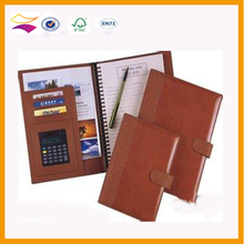 leather cover note book printing