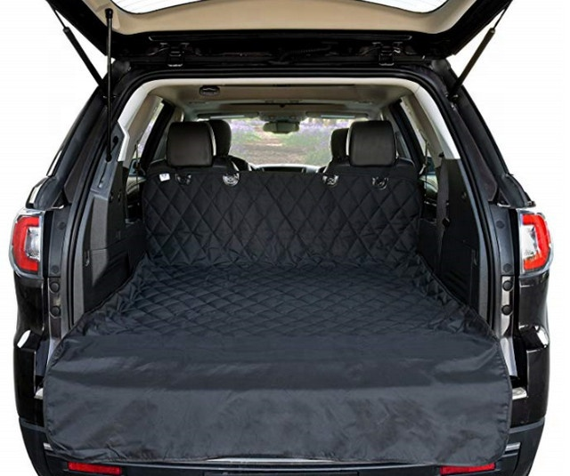 Cargo Liner Cover Suv Auto Waterdicht Materiaal Antislip Backing Extra Bumper Flap Protector Grote Size Universal Fit