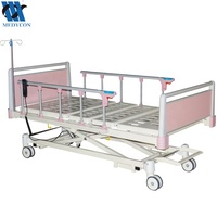 Motorized 3 functions electric hospital mechanism lift bed