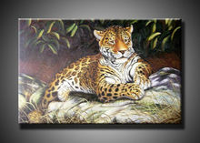contemporary tiger oil paintings for sale