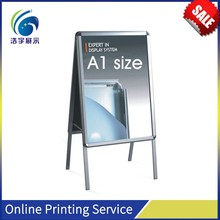 New Invention 2017 Advertising Stand, Magnetic Floating aluminum advertising poster stand