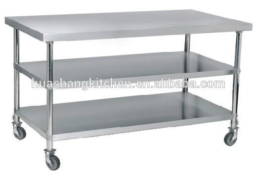 mesa de acero inoxidable para comerciales de cocina-Otros ...