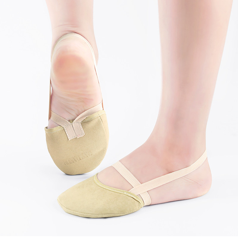 Microfiber Half Shoes Rhythmic Gymnastics Shoes