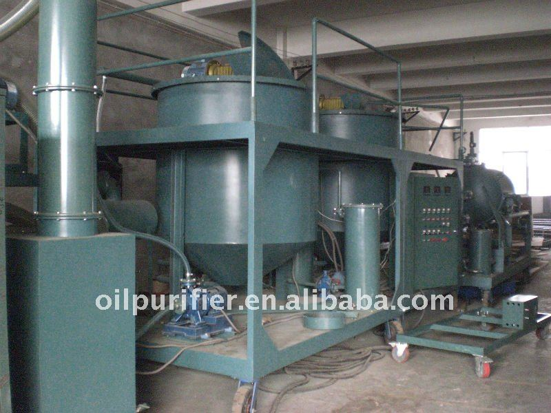 Motor Oil Recovery,Oil Reprocess& Regeneration Plant/Dielsel Oil Purification