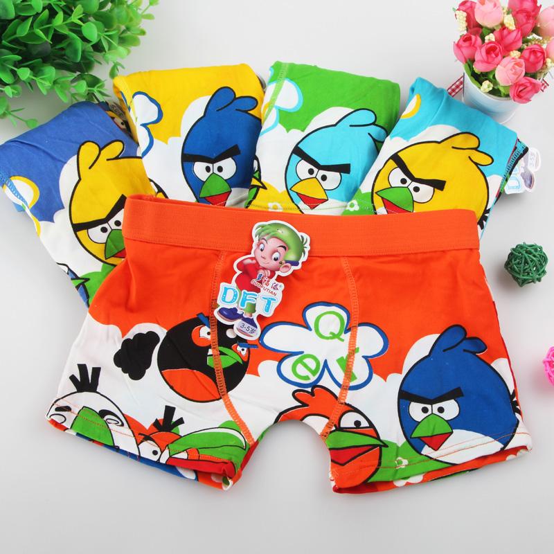 2016 New 5pcs lot Children Underwear Boy 3 11 Years Old Kids Baby Briefs Cartoon Boxer