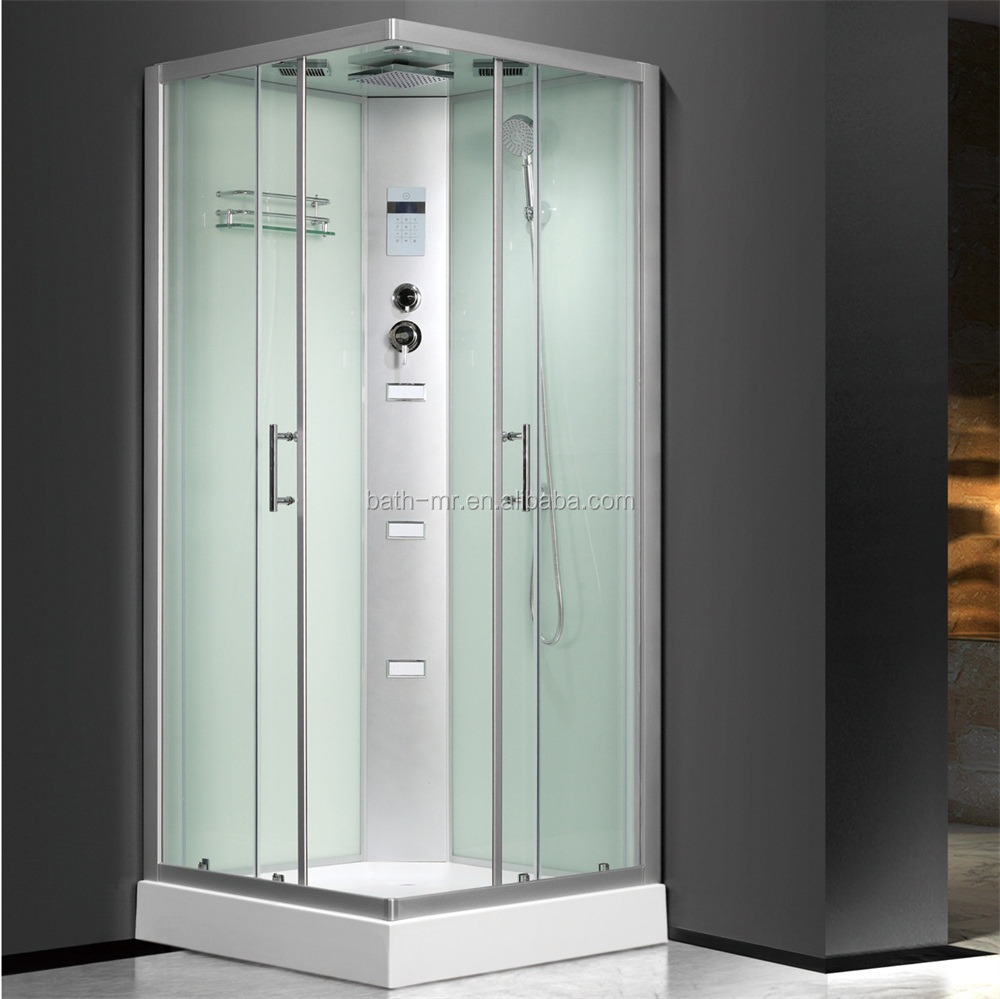 4 Sided Enclosed Tempered Glass Shower Cabin - Buy Glass Shower ...