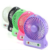 New LED Light Portable Rechargeable Fan Air Cooler Mini Operated Desk USB With Battery