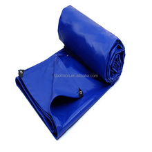 China Factory 1000D 0.5mm PVC 610g Tarpaulins With Metal Eyelets