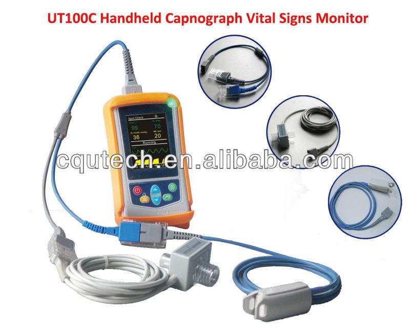 Ut100c Portable Capnography Monitor - Buy Capnograph,Handheld Etco2  Monitor,Pulse Oximeter Product on Alibaba com