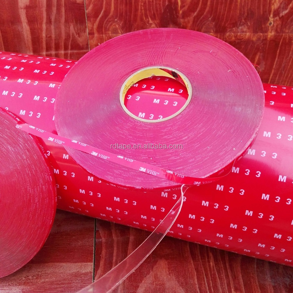 3M Double sided Acrylic Foam Tape For Car Body Omaments