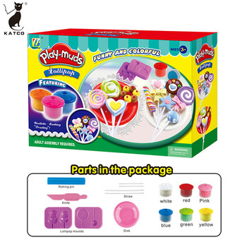 Educational Toys for Kid 2019 Hot Sale EN71 ASTM DIY Play Mud Candy Middle Suit