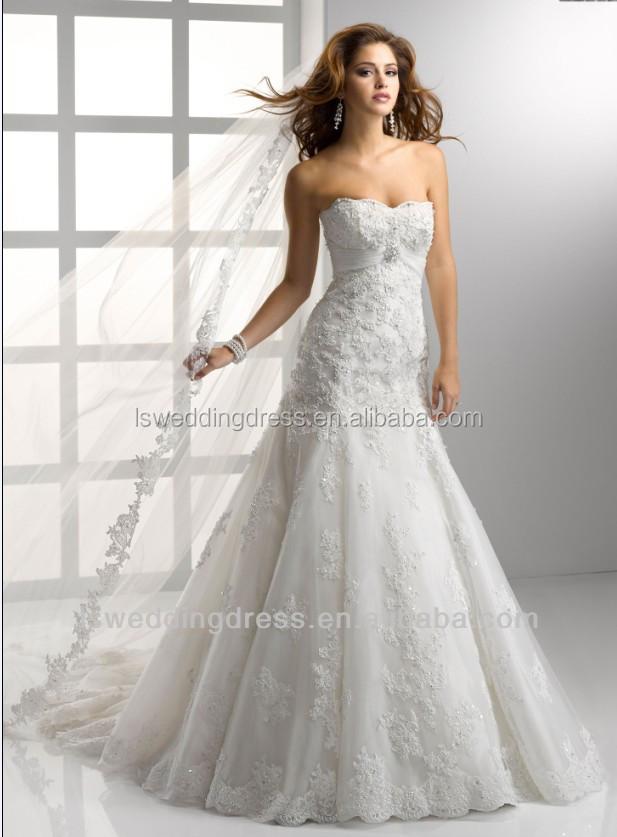 Wd1241 livraison gratuite robe de mariée turquie made in China robe de mariée dentelle