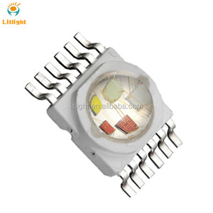 Shenzhen Lights and Lighting Multi Color PLCC-12 Diode 6in1 6W 12W 6*2W RGBWAUV RGBWYV High Power LED Chip