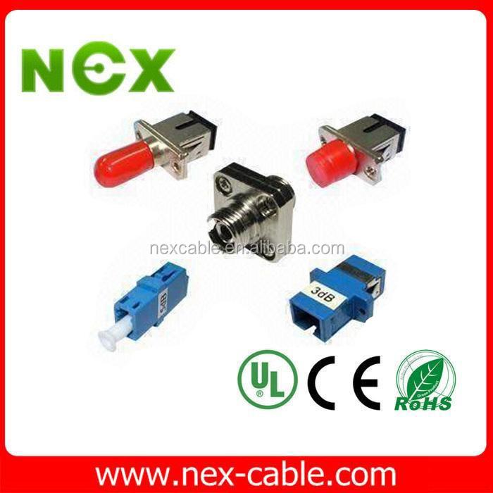 Sc-st Hybrid Duplex Optical Fiber Adaptor,Ftth Adapter