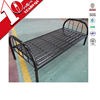 China metal bed manufacturer steel narrow single beds