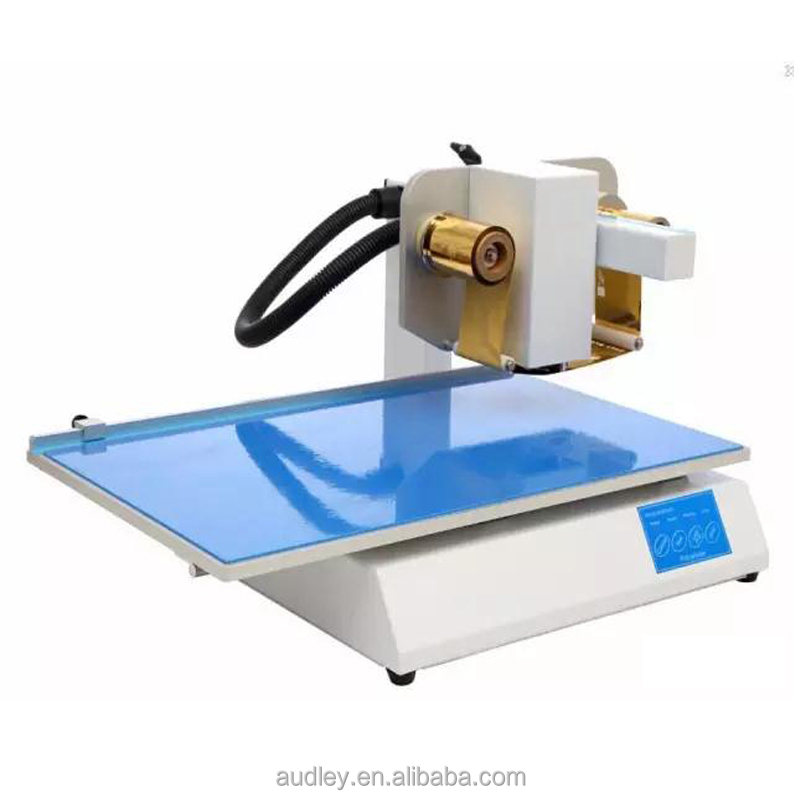 adl-3050A professional Audley produces foil xpress digital gold foil printer for wedding invitation card hot foil printer