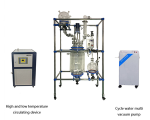 Automatic Stirred Glass Tank Combinatorial Glass Reactor System