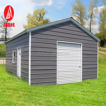 Portable Car Shelter 10x20 Feet Steel Square Tube Frame Garage With Garage Door Buy Garage Door Garage Door Window Frames Garage Door Product On Alibaba Com