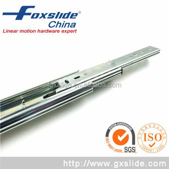 600mm Telescopic Channel Bottom Mount Ball Bearing Drawer Slide