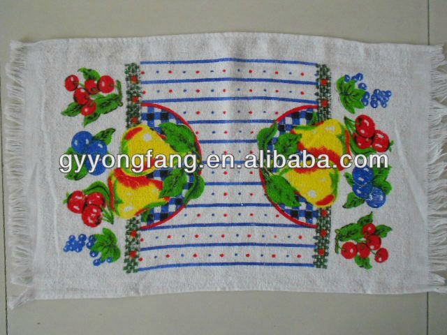 cotton face towel, face towel folding, color geometry face towel