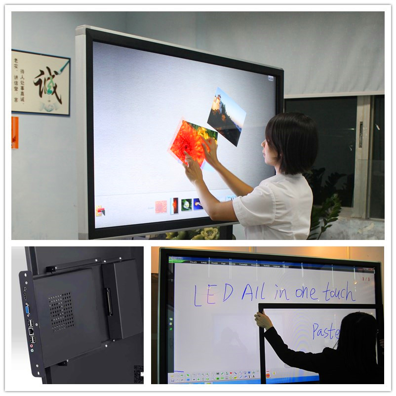 Finger touch All in one touch screen monitor, touch smart TV , LED TOUCH MONITOR with best price