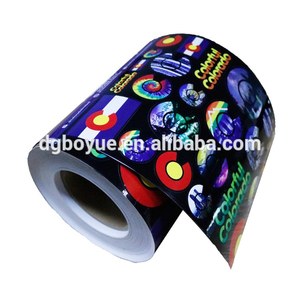 Adhesive Sticker Custom Glossy A4 CD Paper Label